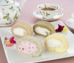 えすぽわーる様 白神ロールケーキ 商品撮影